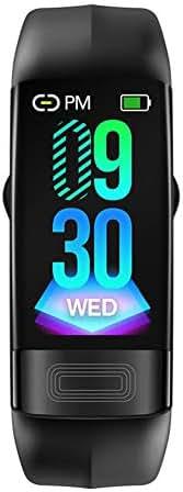 Bestmemories P11 Smart Bracelet IP67 Waterproof Fitness Sport Wrist Band ECG Heart Rate Smartwatches Blood Pressure ECG HRV Health Index Detection Call Message Reminder