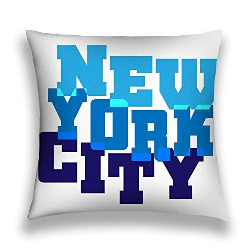 YILINGER Square Throw Pillow Case Cotton Velvet Cushion Cover 18