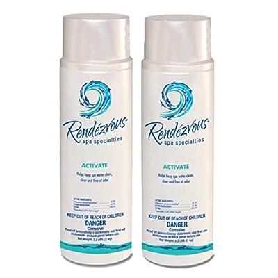 Rendezvous Spa Specialties Activate (2.2 lb) (2 Pack) : Garden & Outdoor