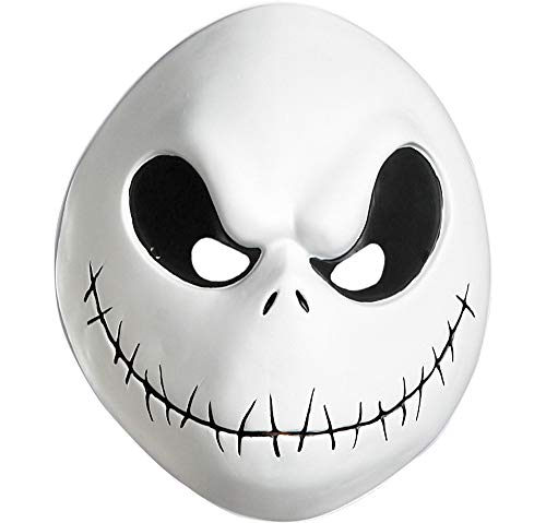 Suit Yourself The Nightmare Before Christmas Plastic Jack Skellington Mask for Adults, One Size, Vacuform with Elastic]()