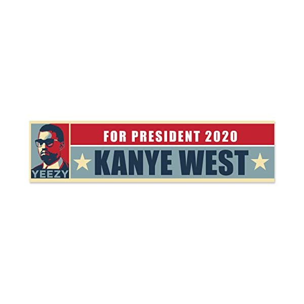 Mug-Market-Yeezy-For-President-2020-Kanye-West-Bumper-Sticker-Political-Election
