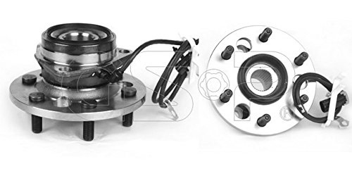 Gmc K1500 Axle Bearing - GSP 106024 Axle Bearing and Hub Assembly - Left or Right Front (Driver or Passenger Side)