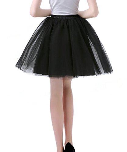 Mini Facent Jupe Tulle Robe Jupon Courte Blanc sous Jupe Femmes Tutu rTqzEWr