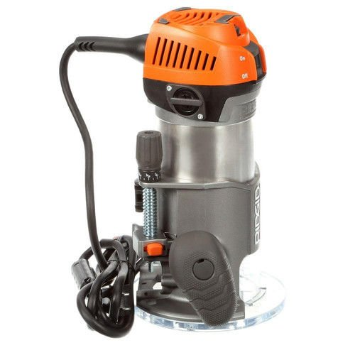 Ridgid ZRR2200 Fixed Base Router (Certified Refurbished)
