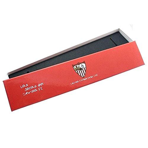 Loi Sevilla FC bouclier d'argent de bracelet caoutchouc [8563] - Modèle: