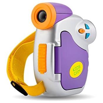 Kids Camera,Powpro Pro DVC-7CAM Kids Digital Video Camera with Ergonomic Design