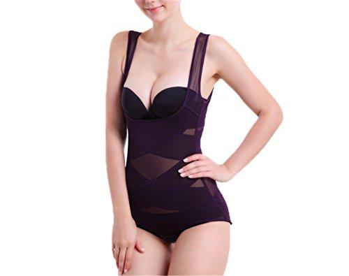 Corset Postpartum Thin Waist Slimming Bodysuit Shapewear Underwear Body Shapers Corsets zi XL ()