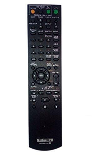 RM-ADU007 1-480-570-21 Remote Control Replaced for Sony DAV-HDX274 RMADU007A HCDHDX277 HCD-HDX287WC HCD-HDX576 Home Theater Audio/Video Receiver AV System