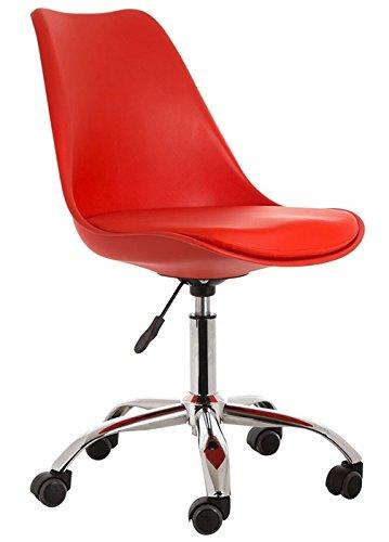sdm Silla Oficina Tulip Rojo cojin Rojo: Amazon.es: Hogar
