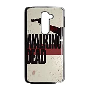 LG G2 Cell Phone Case Black The Walking Dead Poster Artwork F5C8CO