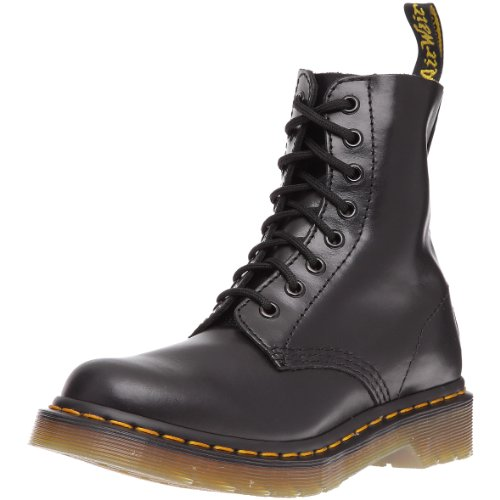 Dr. Martens Women's Pascal Leather Combat Boot Black Buttero