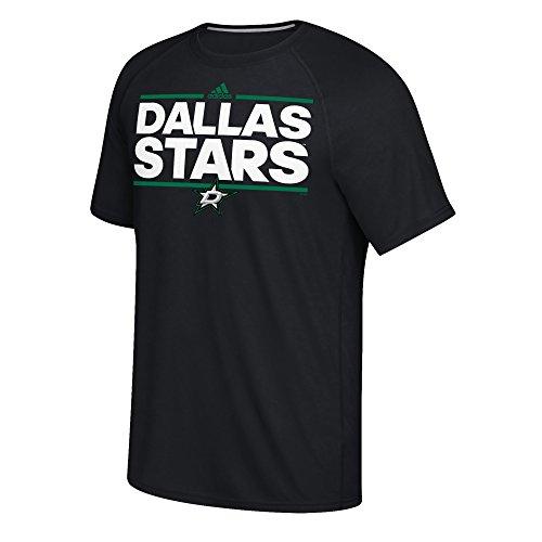 Nhl Dallas Stars Mens Dazzler Ultimate S Teedazzler Ultimate S Tee  Black  Large