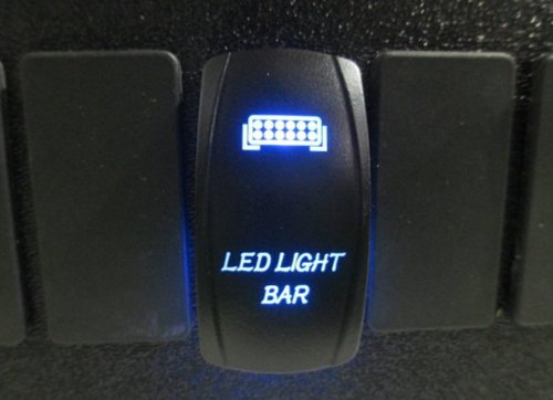Amazon adrenaline cycles dual backlit blue led light bar rocker amazon adrenaline cycles dual backlit blue led light bar rocker switch on off new for all atv utv off road 4x4 vehicles trucks jeep suv boat rv sxs aloadofball Image collections
