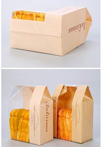 Amazon.com: elufly Bolsa de papel para pan reutilizable ...