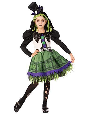 Rubie's Opus Collection Child's Gothic Rag Doll Costume, Medium -