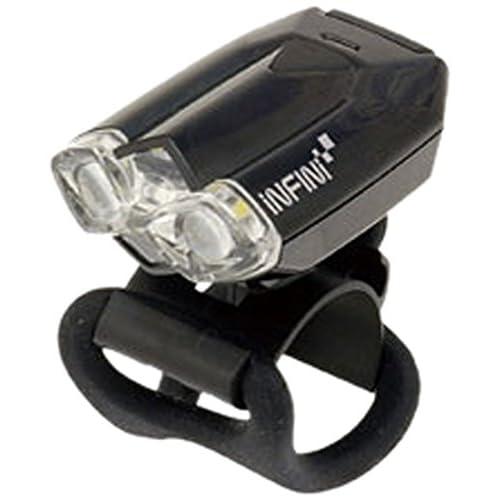 Cicli Bonin Infini Lava Front 2 LED 4 Function USB Lampes Mixte, Noir, Taille Unique