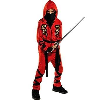 Fire Dragon Ninja Costume - Medium