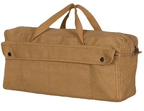 Brass Zipper Mechanics Tool Bag - Fox Outdoor Products Jumbo Mechanic