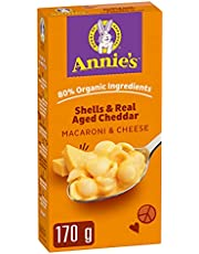 Annie's Homegrown Shells with Real Aged Cheddar Macaroni & Cheese, 170 Grams