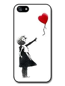 AMAF ? Accessories Banksy Balloon Girl Street Art Graffiti iPhone 5 Case