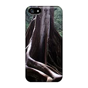 AbbyRoseBabiak Premium Protective Hard Cases For Iphone 5/5s- Nice Design - Moreton Bay Fig Trees On Kauai, Hawaii 2