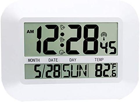 FAS1 - Reloj Digital de Pared con indicador de Temperatura, Fecha ...