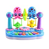 Singular-Point Kid Toys Sale!! Infant Toddler Kids Musical Animal Piano Developmental Toy Early Educational (zzz)