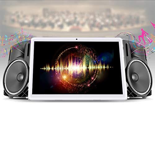Android 8.1 Tablet 10.1 inch,Octa Core Processor,4GB RAM+64GB Storage,2MP+8MP Camera,3G Dual SIM Phablet,WiFi,GPS,OTG(Gold)