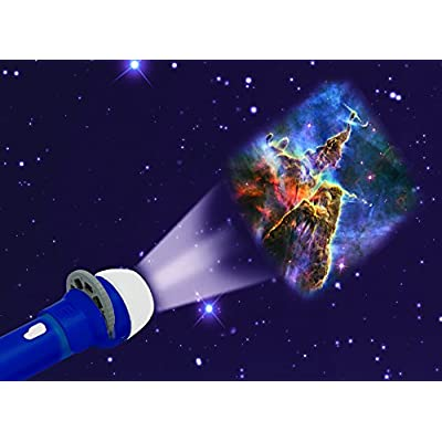Brainstorm Toys E2008 Space Torch and Projector, Blue: Toys & Games