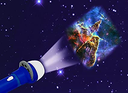 Eureka Brainstorm Toys Space Torch - Proyector: Brainstorm Toys ...