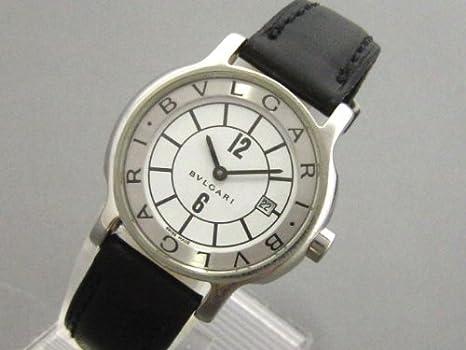 separation shoes 735f7 afd71 Amazon | [ブルガリ]BVLGARI 腕時計 クォーツ ソロテンポ ST29S ...