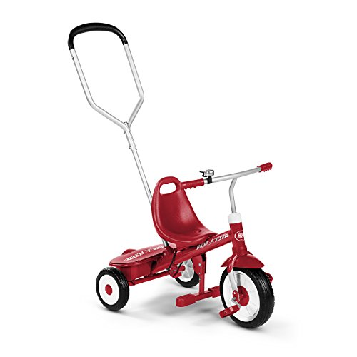 Radio Flyer Steer and Stroll Trike, Tricycle with Push, used for sale  Delivered anywhere in USA