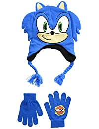 Sonic The Hedgehog Little Sonic - Gorro de Invierno para niño