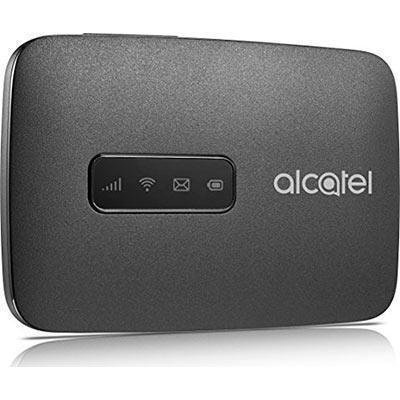 Router Hotspot Alcatel 4G LTE MW40 Unlocked GSM (4G At&T Cricket H2O USA Latin Caribbean Europe) Up to 15 wifi users MW40CJ (Black) by Alcatel