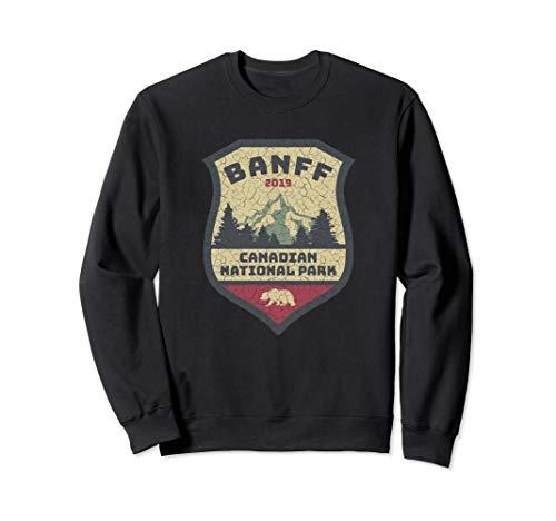 Vintage Retro Canadian Banff National Park Shirts Souvenirs Sweatshirt