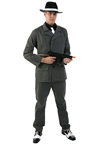 20s Boys Gangster Costumes (Fun Costumes ' Deluxe Gangster Costume)