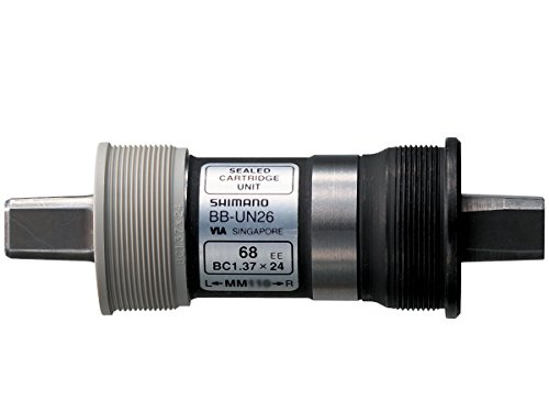 SHIMANO BB-UN26 Square Taper Bottom Bracket (68x122.5-mm)