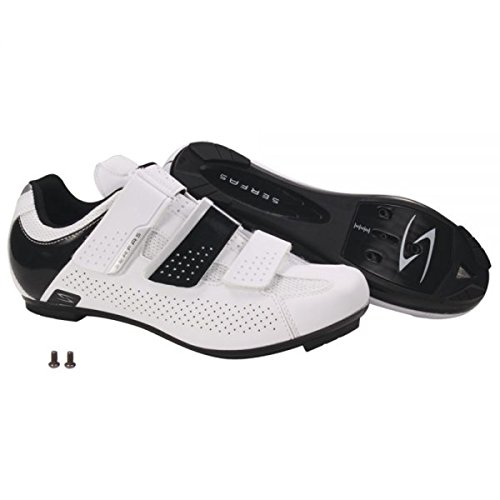 Women's 3 White 401W Road Strap SWR Serfas White Cycling Shoe Paceline 38 qE6daO
