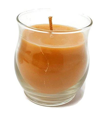 Long-burning Scented Jar Candle, (Amberwood & Vanilla), 8 OZ Mini Barrel Jar, by PartyLite ()