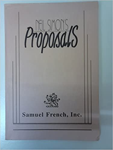 Amazon Proposals 9780573650994 Neil Simon Books