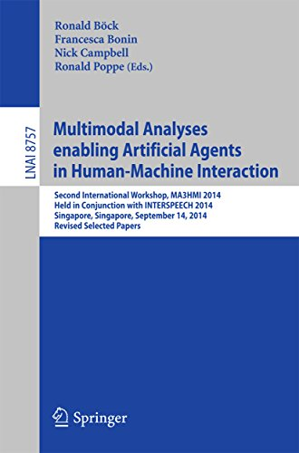 Download Multimodal Analyses enabling Artificial Agents in Human-Machine Interaction: Second International Workshop, MA3HMI 2014, Held in Conjunction with INTERSPEECH … Papers (Lecture Notes in Computer Science) Pdf