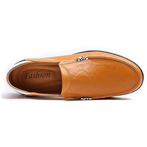 EU fatti fondi da mocassini sono brown morbidi alla Dimensione leggeri shoes Light fino I mocassini 44 Xiazhi e uomo Color taglia 47EU di fI0wBvxq