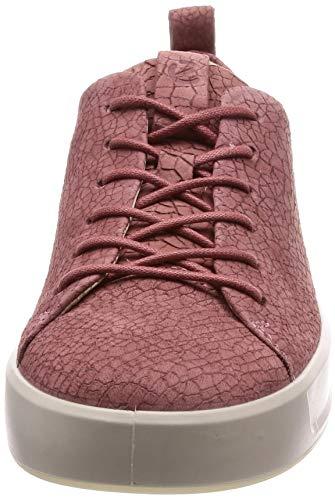petal De 440793 Ecco Pink Zapatillas Cuero Mujer Rwfq4