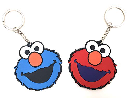 (CellDesigns Japanese and US Anime Character Souvenir Collection (Set of 2 Sesame Street. Cookie)