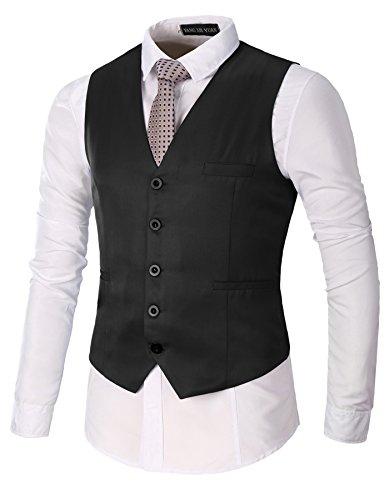 Vest Mens Tuxedo Suit - 4