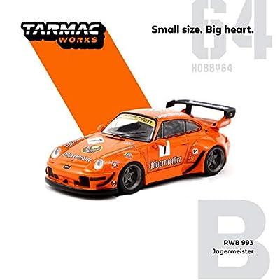 "993 RWB #7""Jagermeister RAUH-Welt BEGRIFF 1/64 Diecast Model Car by Tarmac Works T64-017-JA: Toys & Games"
