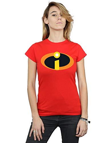 Disney Womens The Incredibles 2 Costume Logo T-Shirt