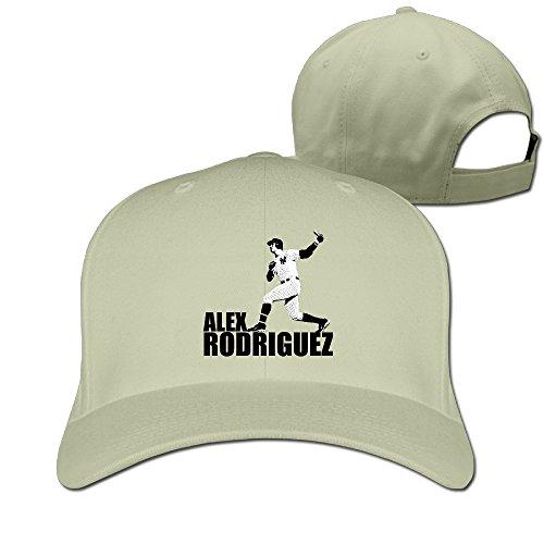 (DETED Alex Rodriguez Trucker Hat Cap Natural)
