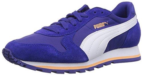 Puma Unisex-Erwachsene St Runner NL Low-Top, grau, Blau (Clematis Blue-white-peach Cobler 11)
