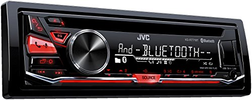 JVC KD-R771BT Autoradio USB/CD-Receiver mit Bluetooth inkl. A2DP schwarz